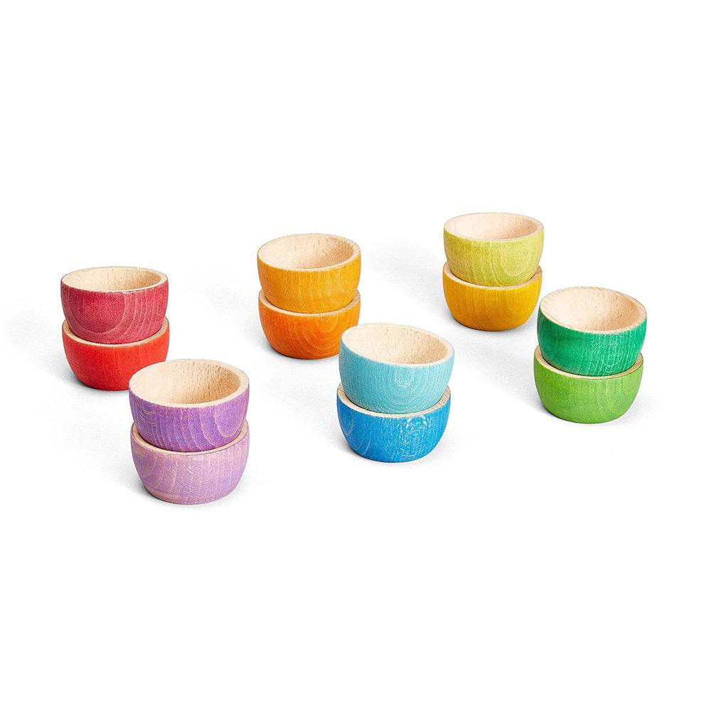 12 Bowls in Rainbow | Grapat