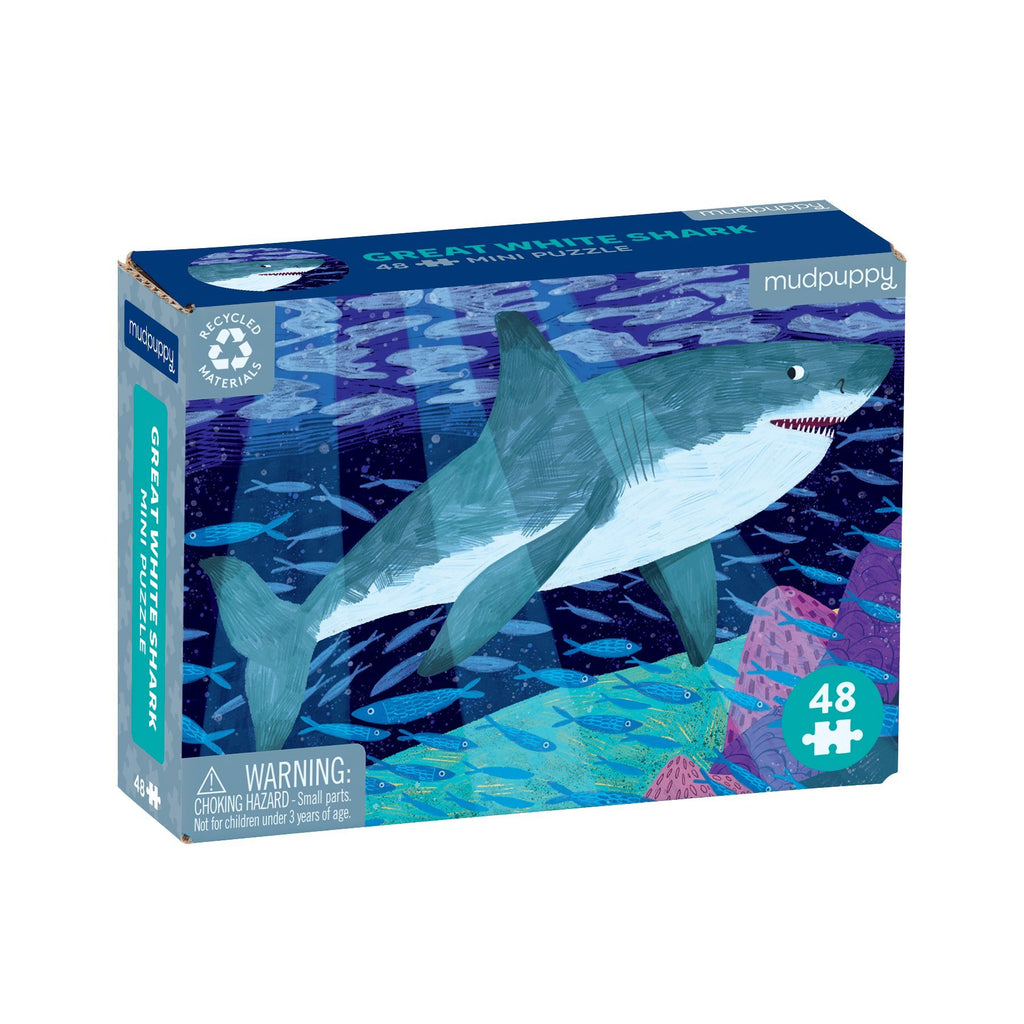 Great White Shark Puzzle | 48pc Mini