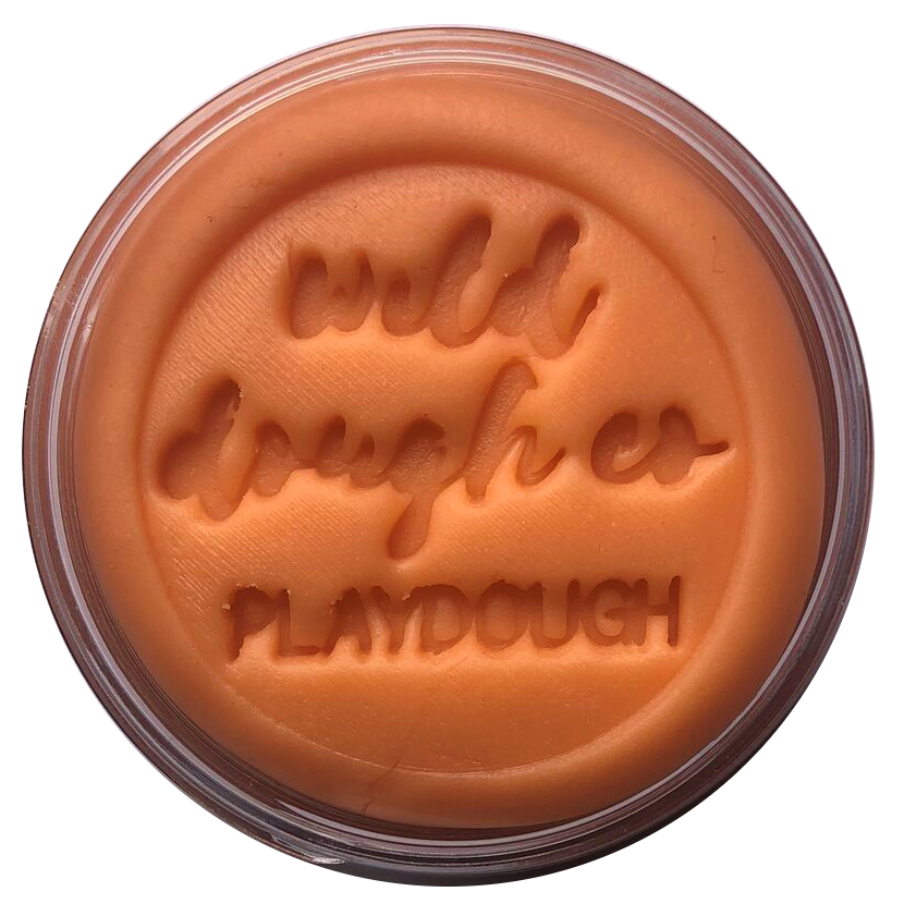 Sunset Orange Playdough | Wild Dough