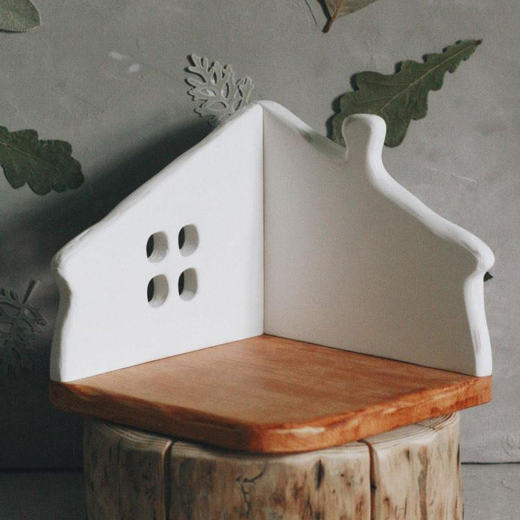 Wooden Corner Play House