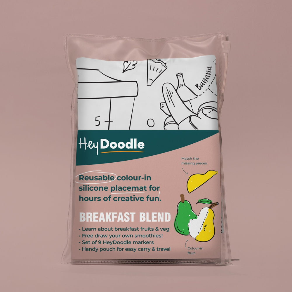 Breakfast Blend | HeyDoodle Reusable Placemat