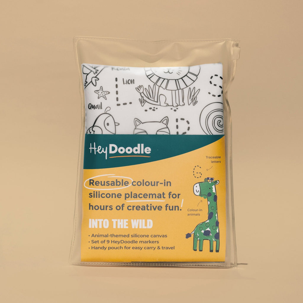 HeyDoodle Reusable Placemat - Into the Wild