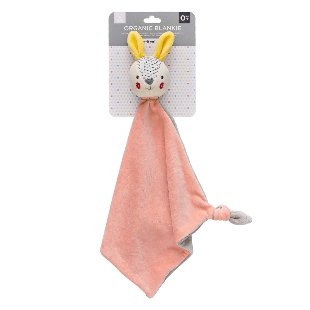 Organic Soft Bunny Blankie - Petit Collage