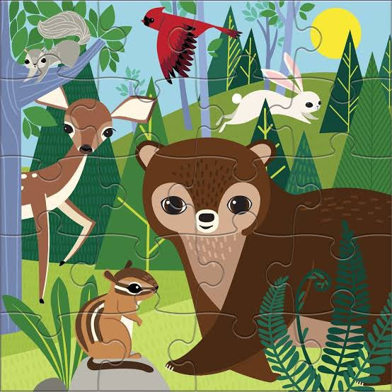Forest Day & Night Magnetic Puzzle | 20