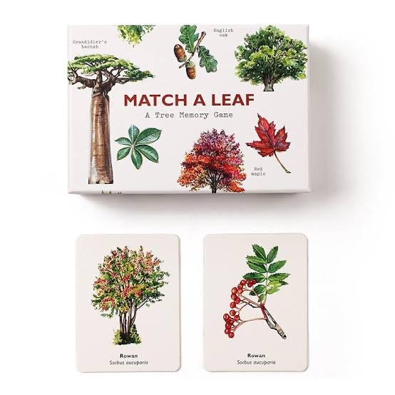 Match a Leaf - A Tree Matching Game