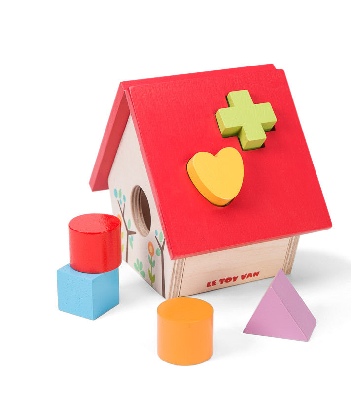 My Little House Shape Sorter - Petilou