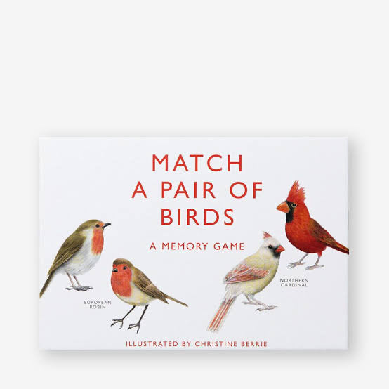 Match a Pair of Birds - A Matching Game