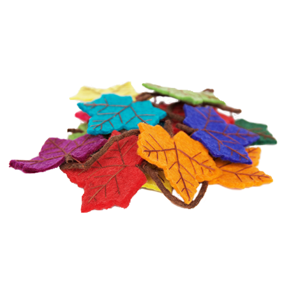 Rainbow Flame Tree Garland | Decor