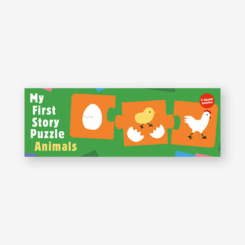 My First Story Puzzle - Animals | Beginner