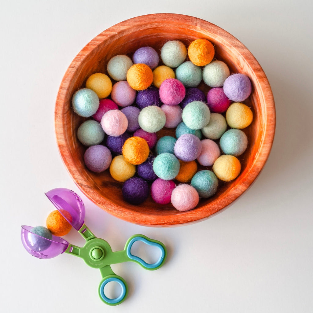 Felt Balls - 45 Bubblegum Colours