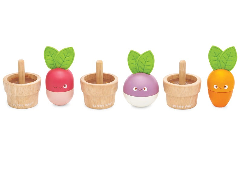 Petilou Stacking Veggies - Le Toy Van