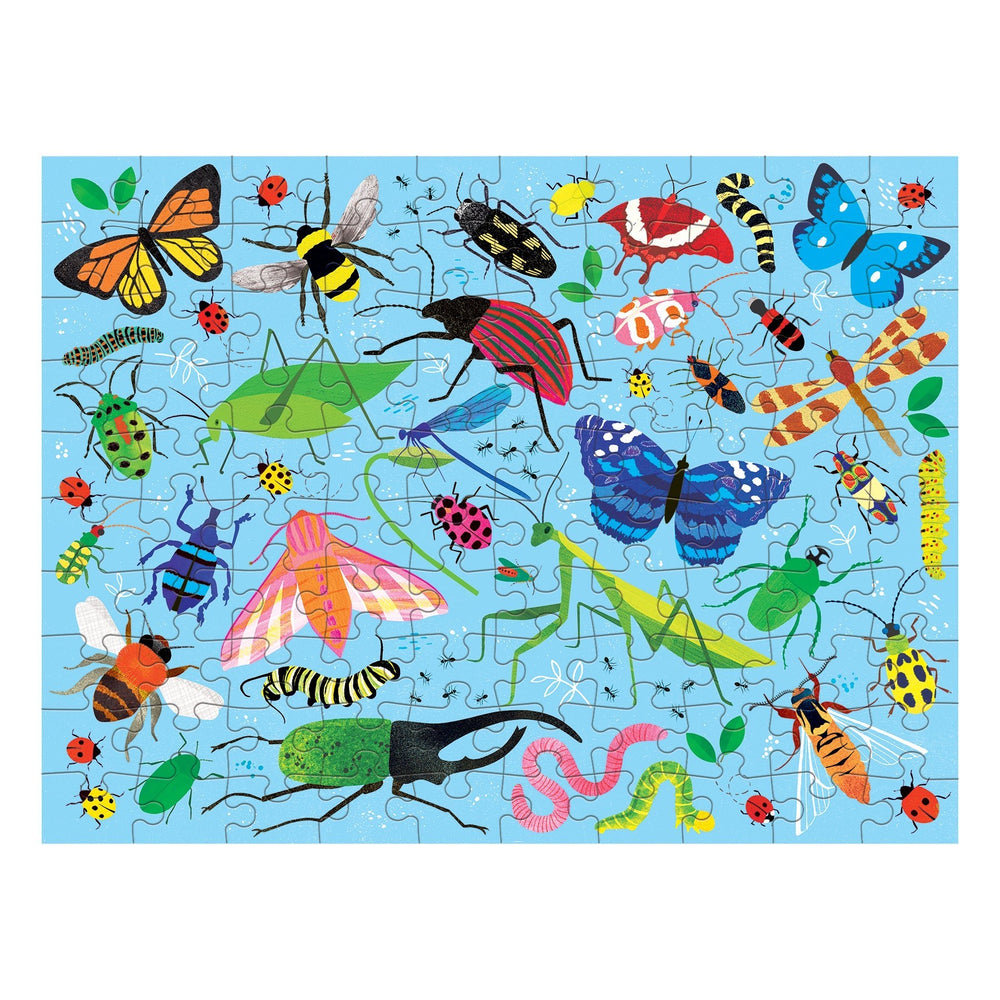 Bugs and Birds Double Sided Puzzle | 100