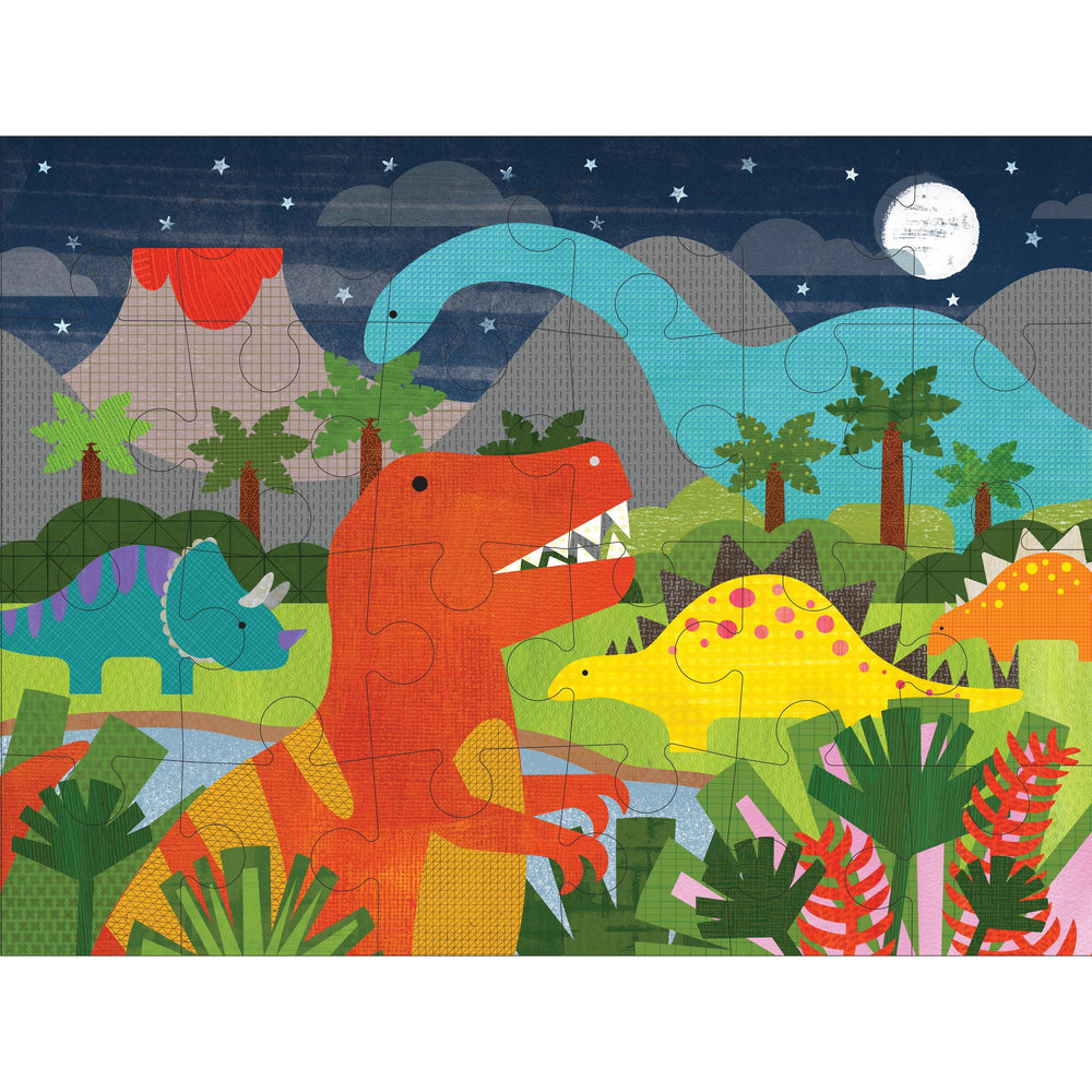 Petit Collage Floor Puzzle - Dinosaurs