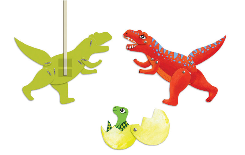 Dinosaur Paper Puppets - Djeco