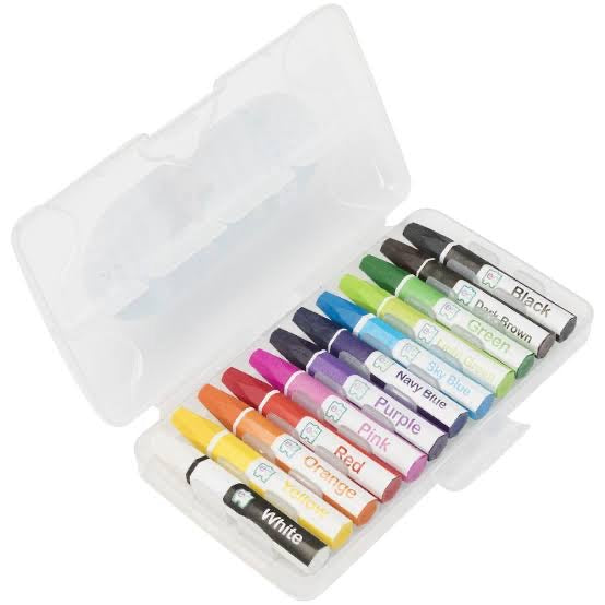 Easy-Grip Oil Pastels | 12 Pack