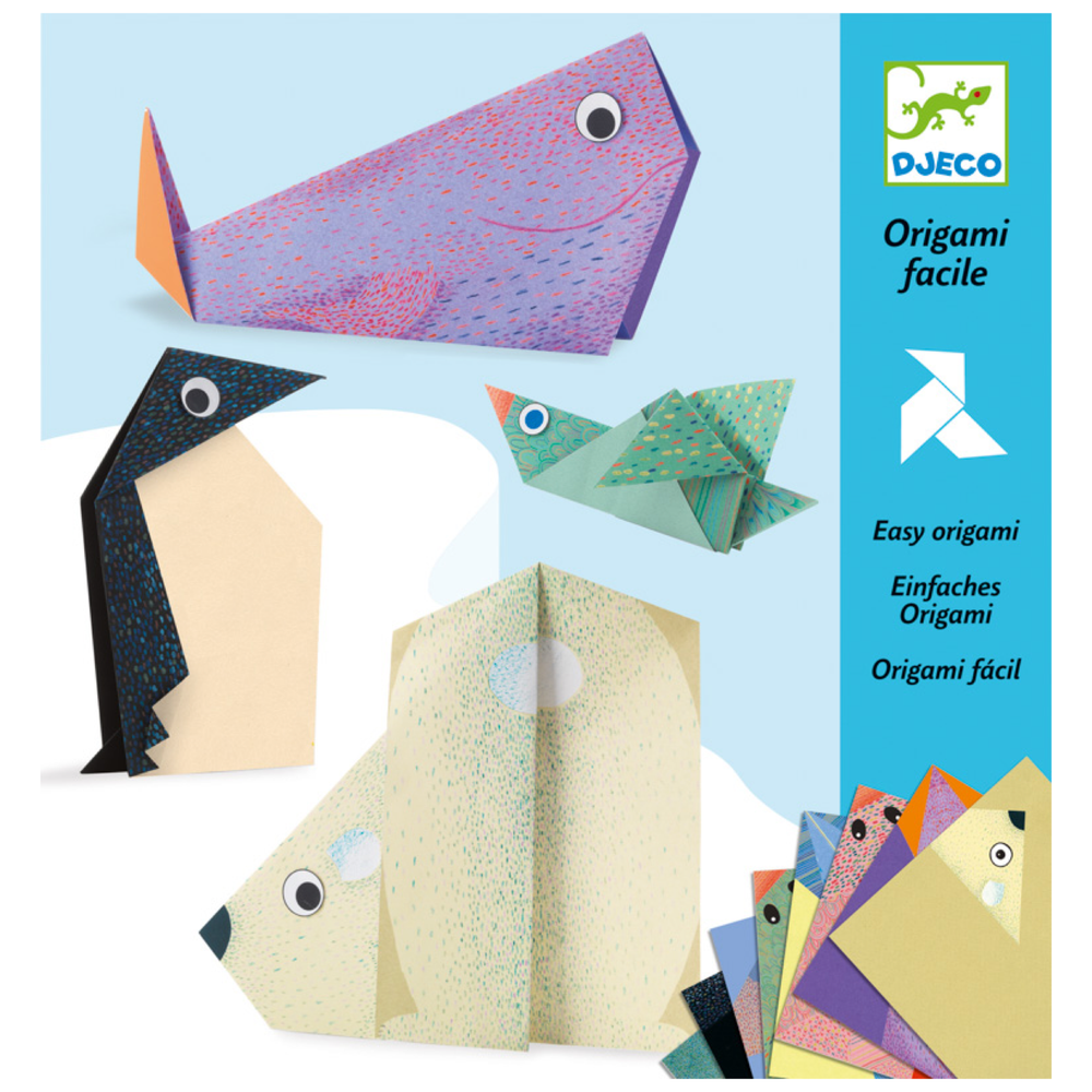 Origami Polar Animals - Djeco