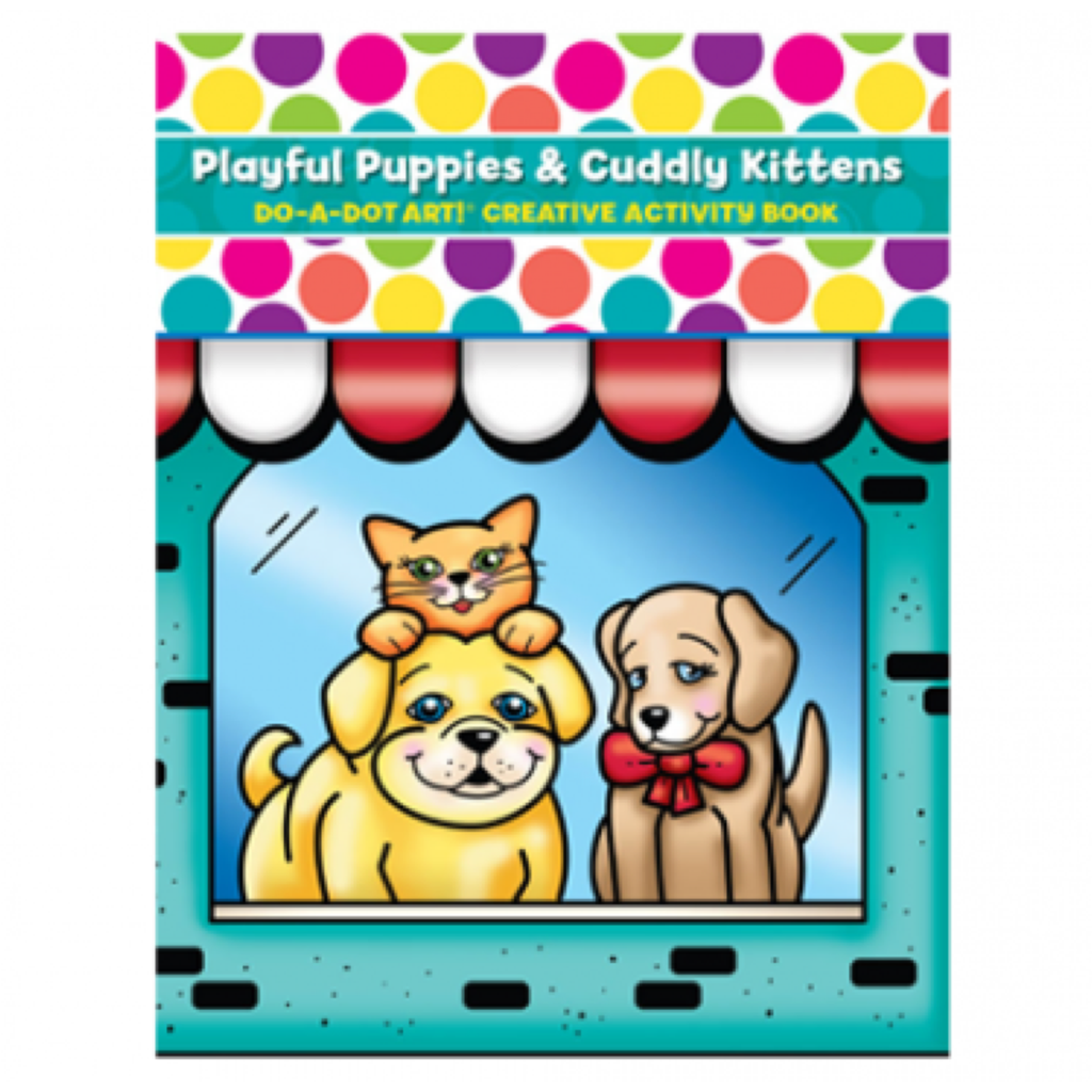 DO A DOT ART Book - Puppies and Kittens