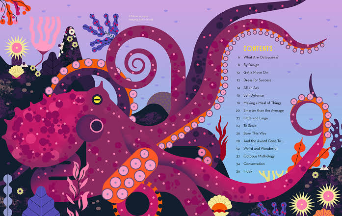 Obsessive About Octopuses - Owen Davey