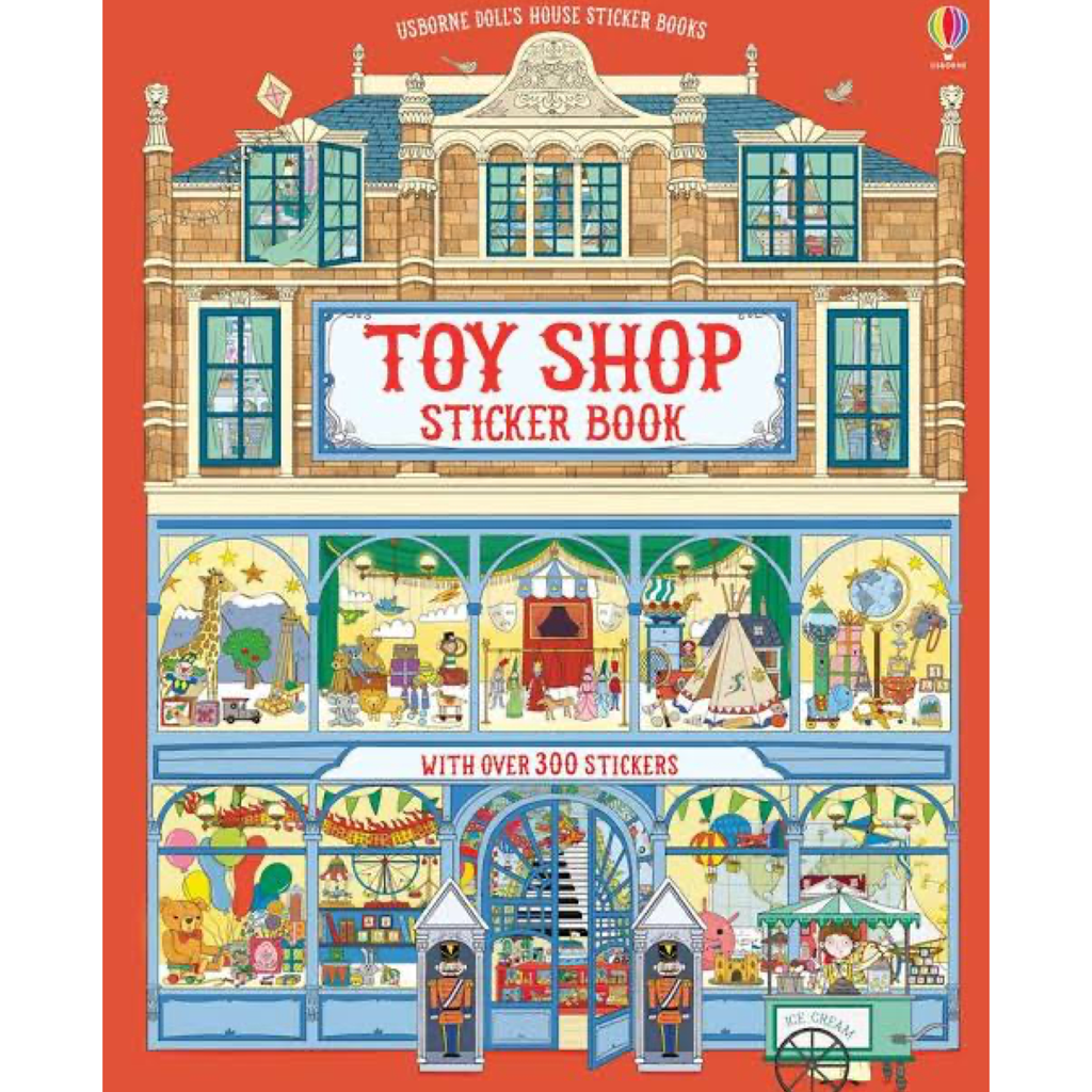 Usborne Toy Shop Sticker Book