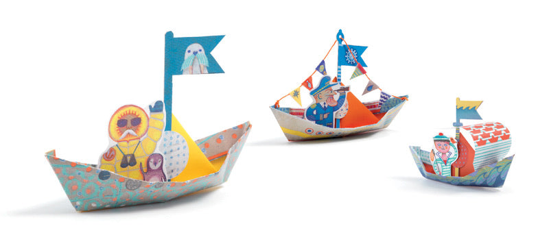 Origami Floating Boats - Djeco