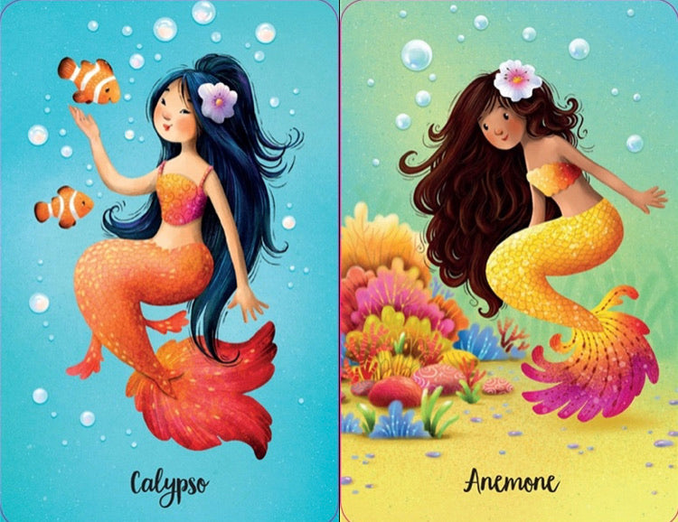Mermaid Snap Cards