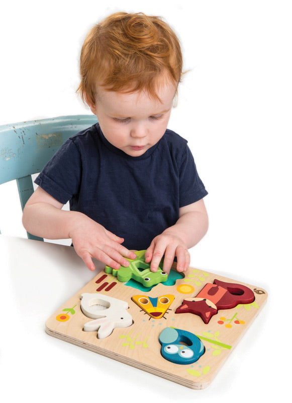 Sensory Animal Puzzle | Tender Leaf Toys
