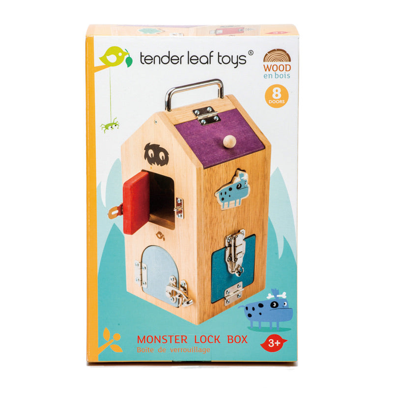 Monster Lock Box | Tender Leaf Toys