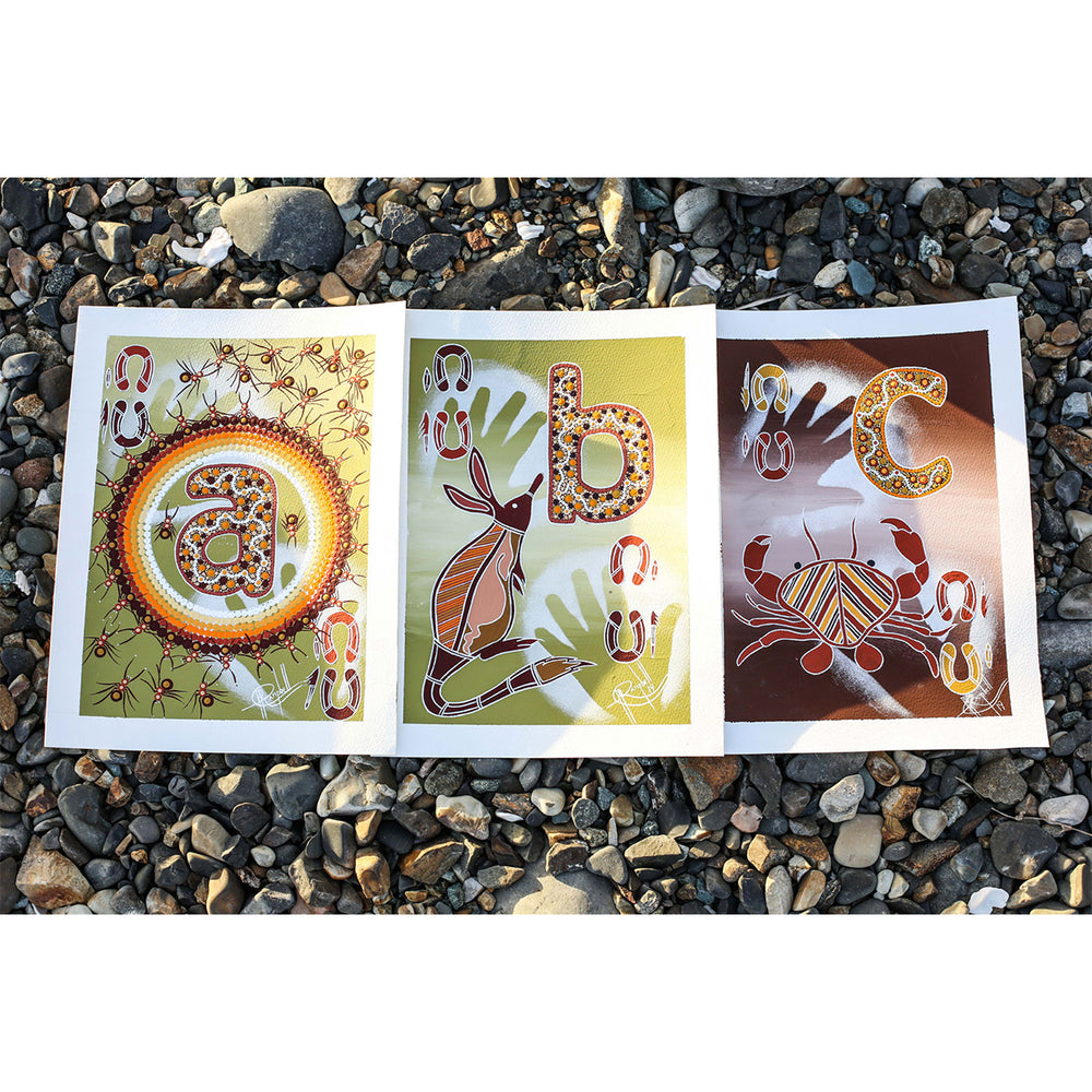 ABC Indigenous Flash Card Set | The I Am, Movement