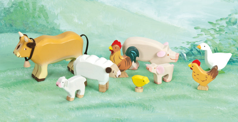 Wooden Farm Animal Set - Le Toy Van