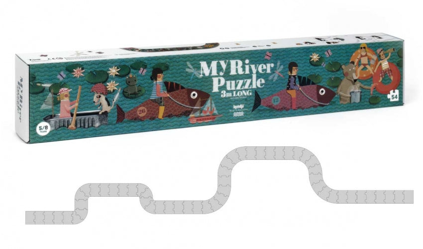 My River 3m Long Puzzle | 54 | Londji