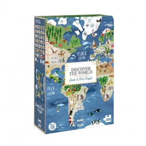 Discover the World Puzzle - Londji