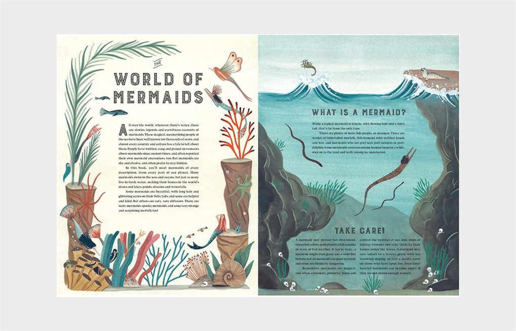 The Mermaid Atlas: Merfolk of the World