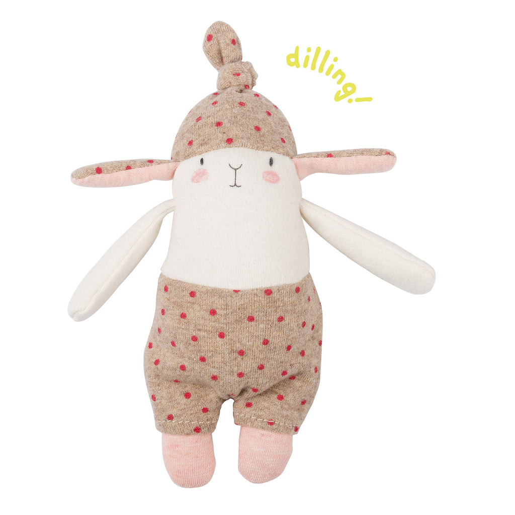 Spotted Rabbit Rattle | Moulin Roty