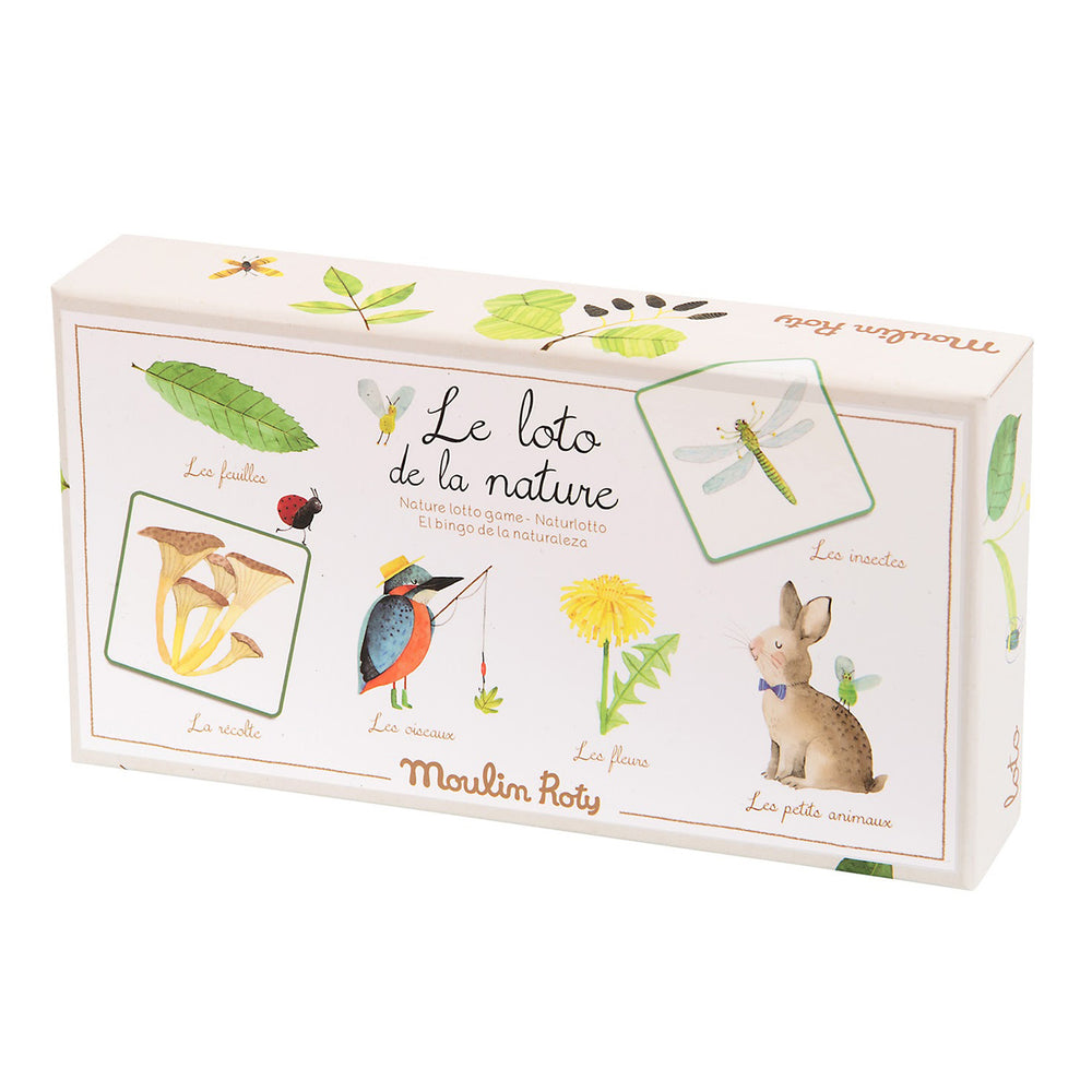 Le Jardin Nature Lotto Game | Moulin Roty