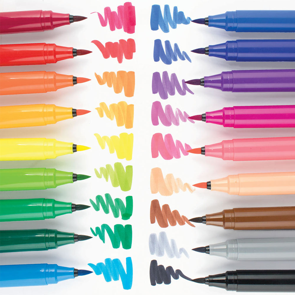 Big Bright Brush Set of 18 | Ooly