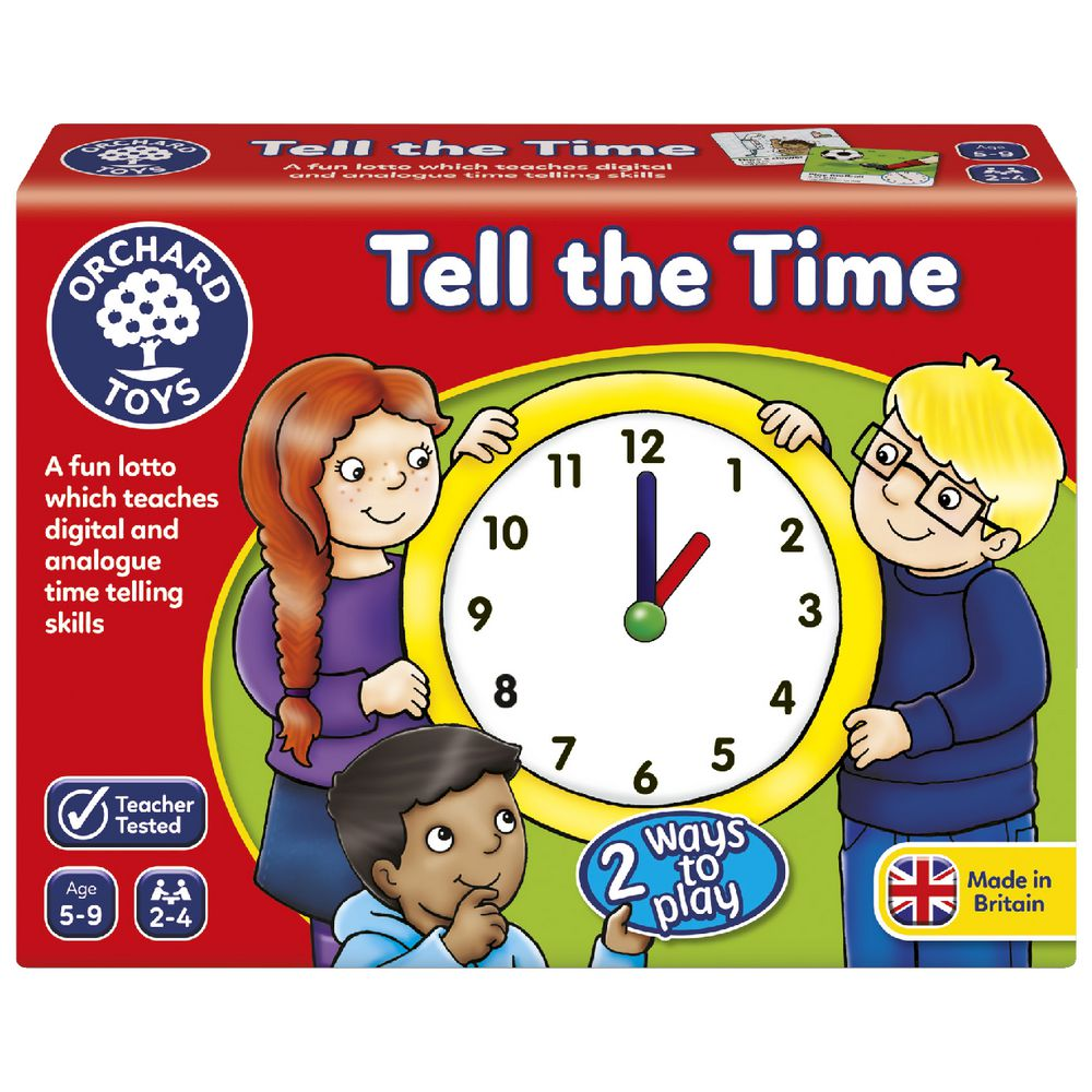 Tell The Time Lotto | Orchard Toys