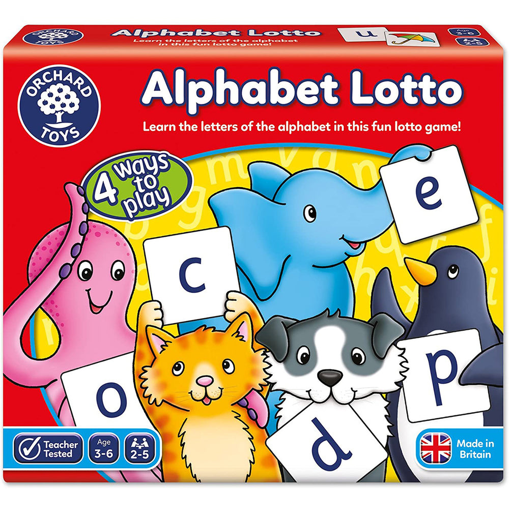 Alphabet Lotto | Orchard Toys