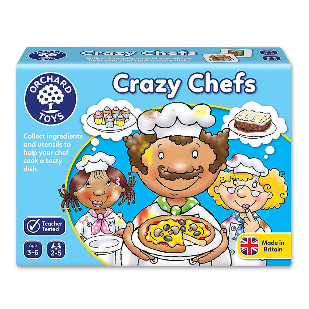 Crazy Chefs | Orchard Toys