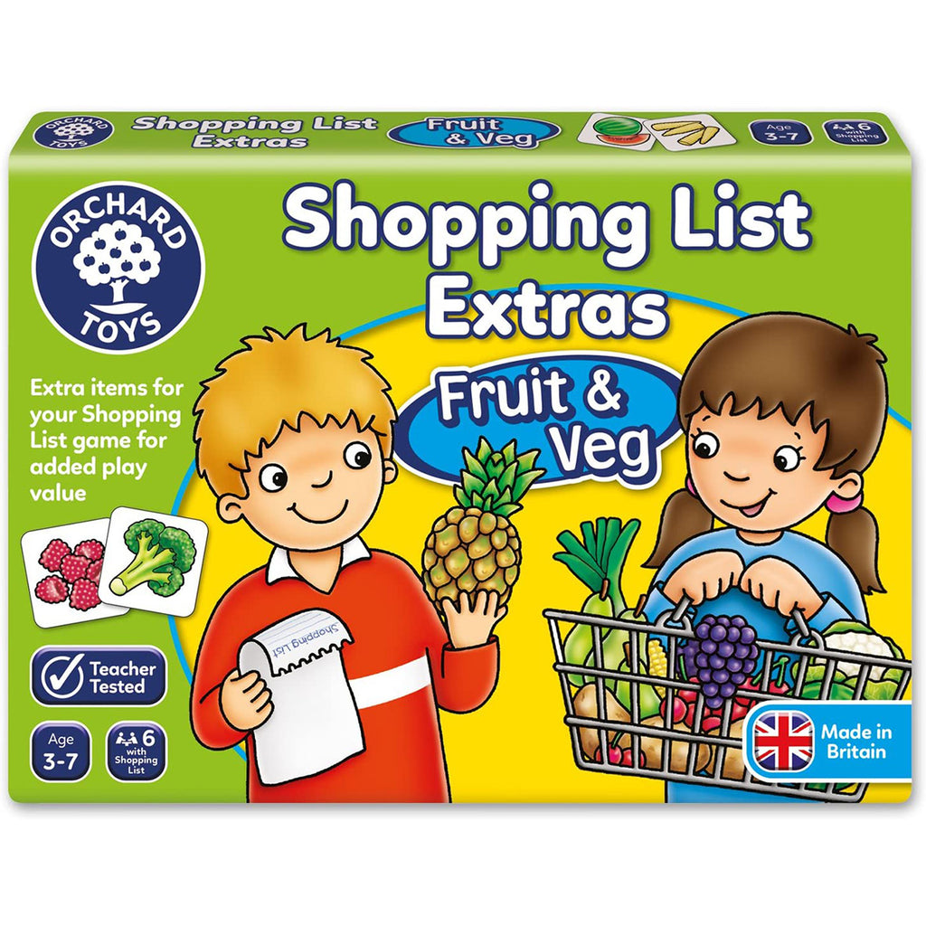 Shopping List Extras Fruit & Veg | Orchard Toys