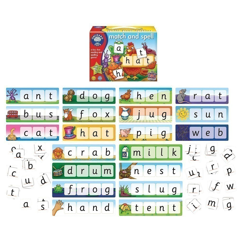Match and Spell | Orchard Toys