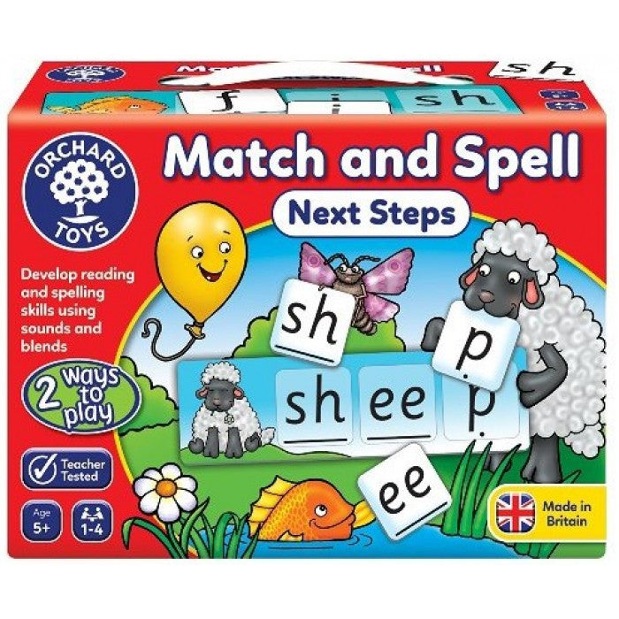 Match and Spell Next Steps | Orchard Toys