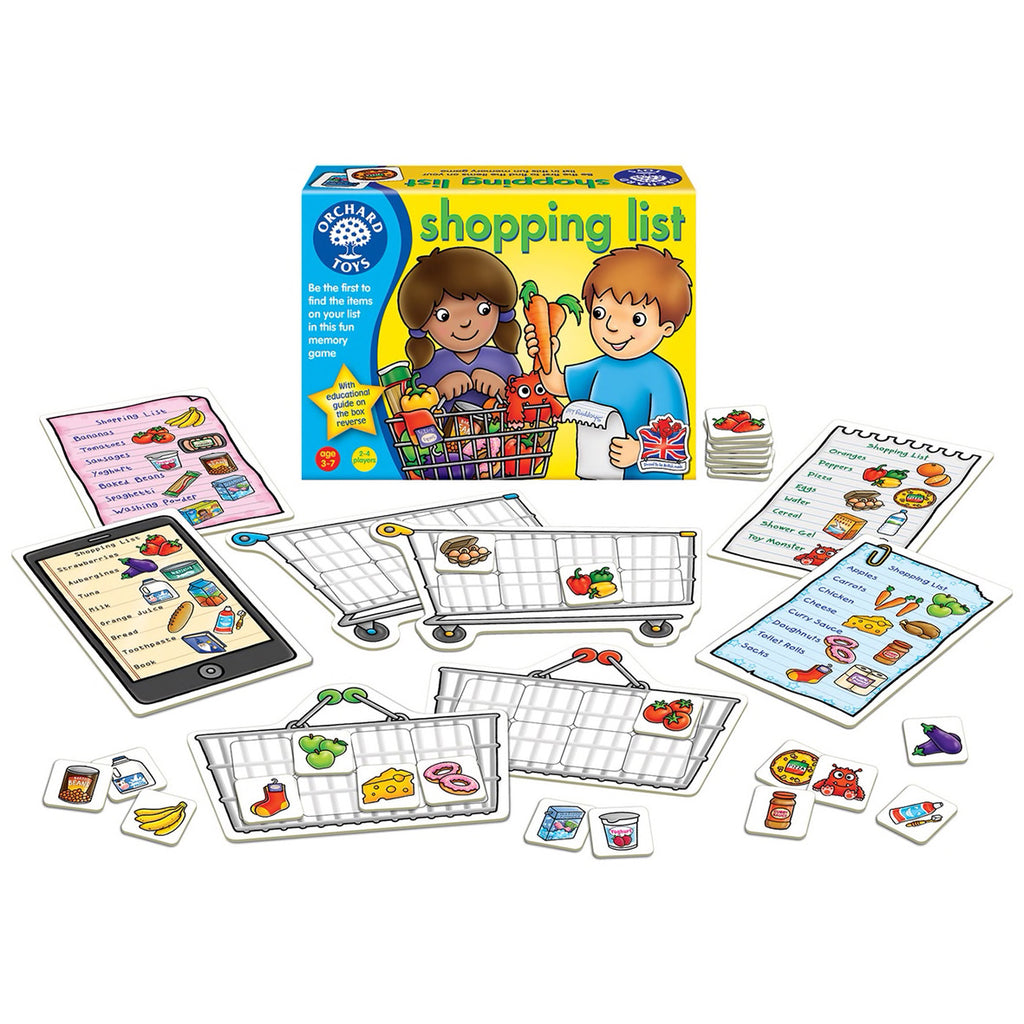 Shopping List | Orchard Toys