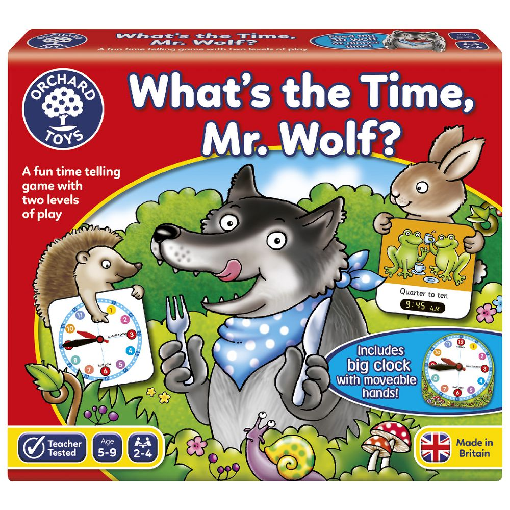 What's the Time, Mr Wolf? | Orchard Toys
