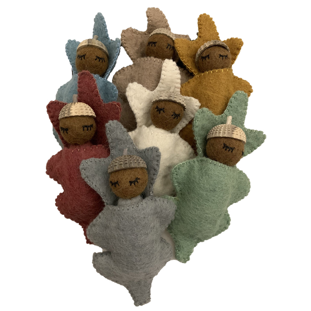 Papoose Earth Acorn Babies - Individual