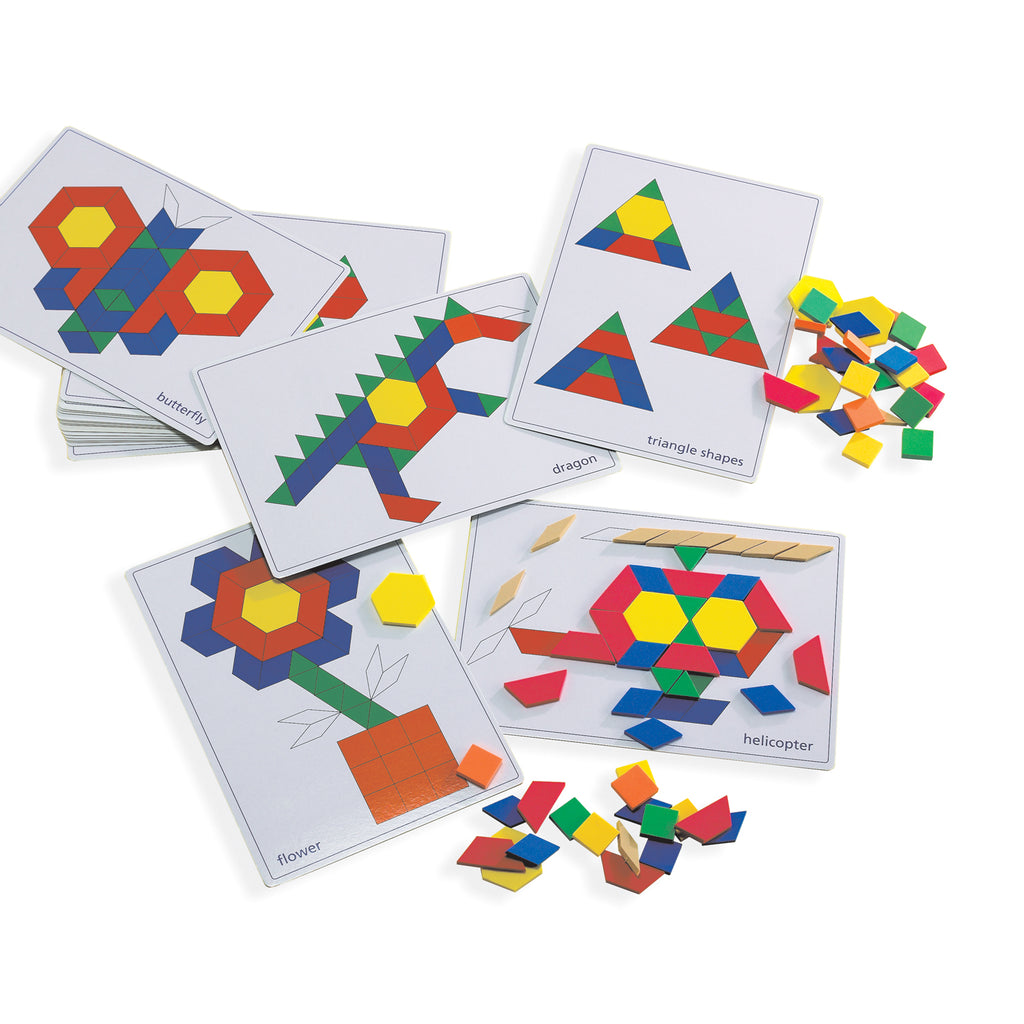 Pattern Block Pictures Cards