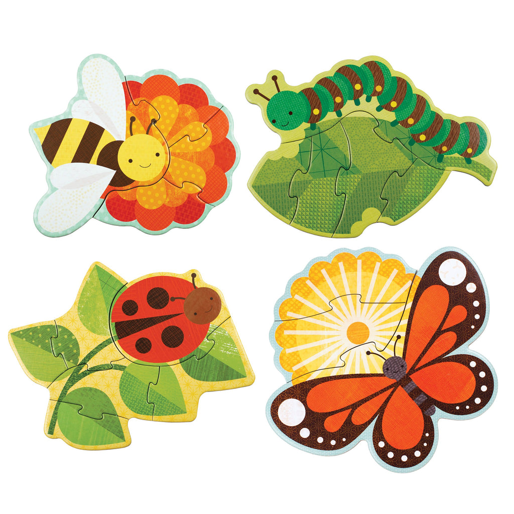 Petit Collage Beginner Puzzle - Garden Bugs