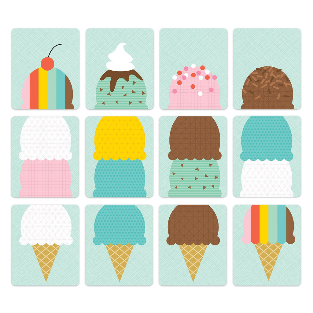 Petit Collage Board Game - Ice Cream Social