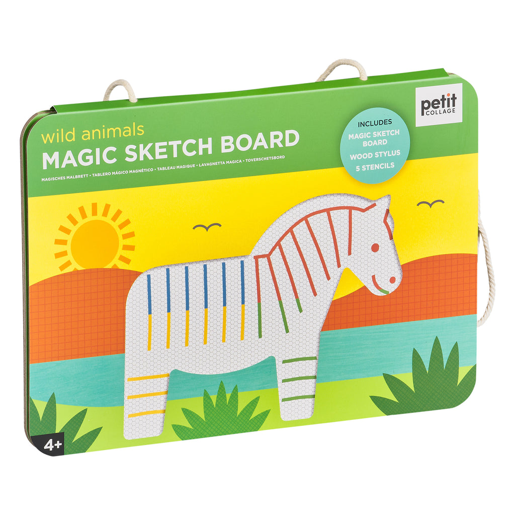 Wild Animals Magic Sketch Board