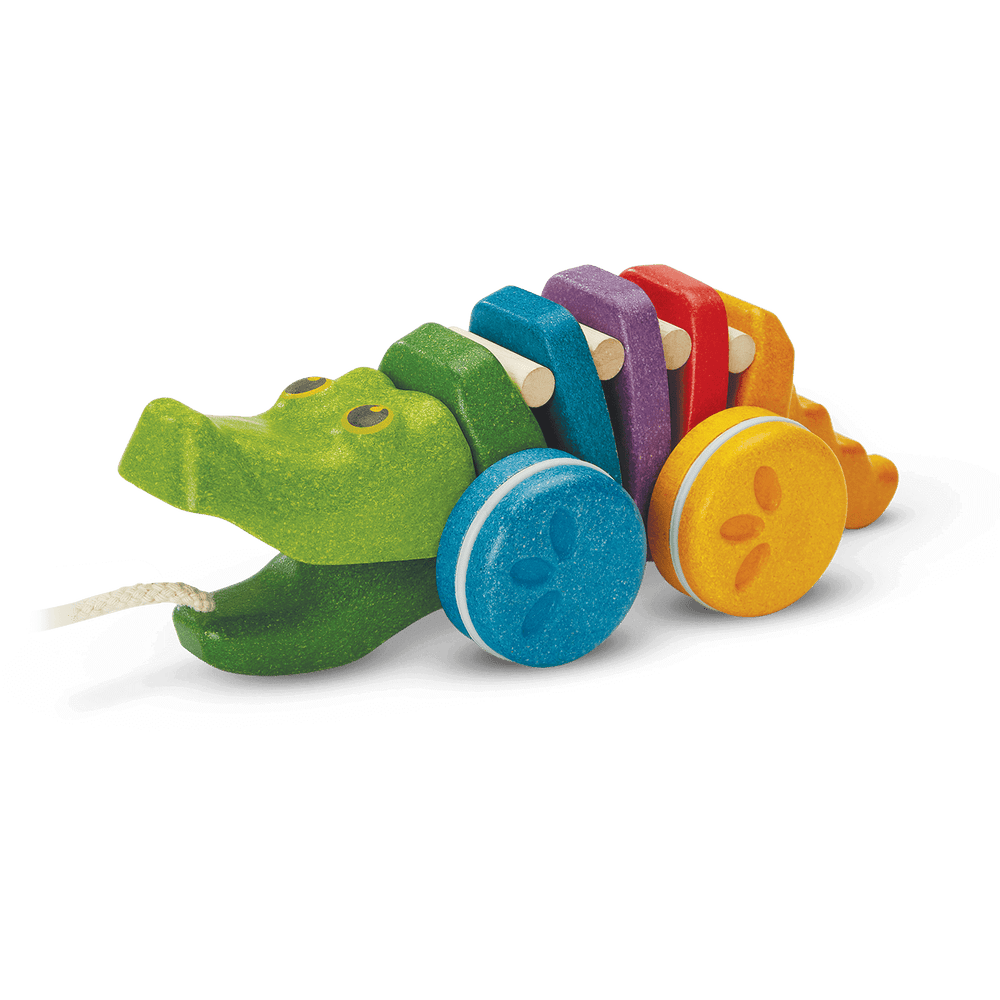 Rainbow Alligator | PlanToys