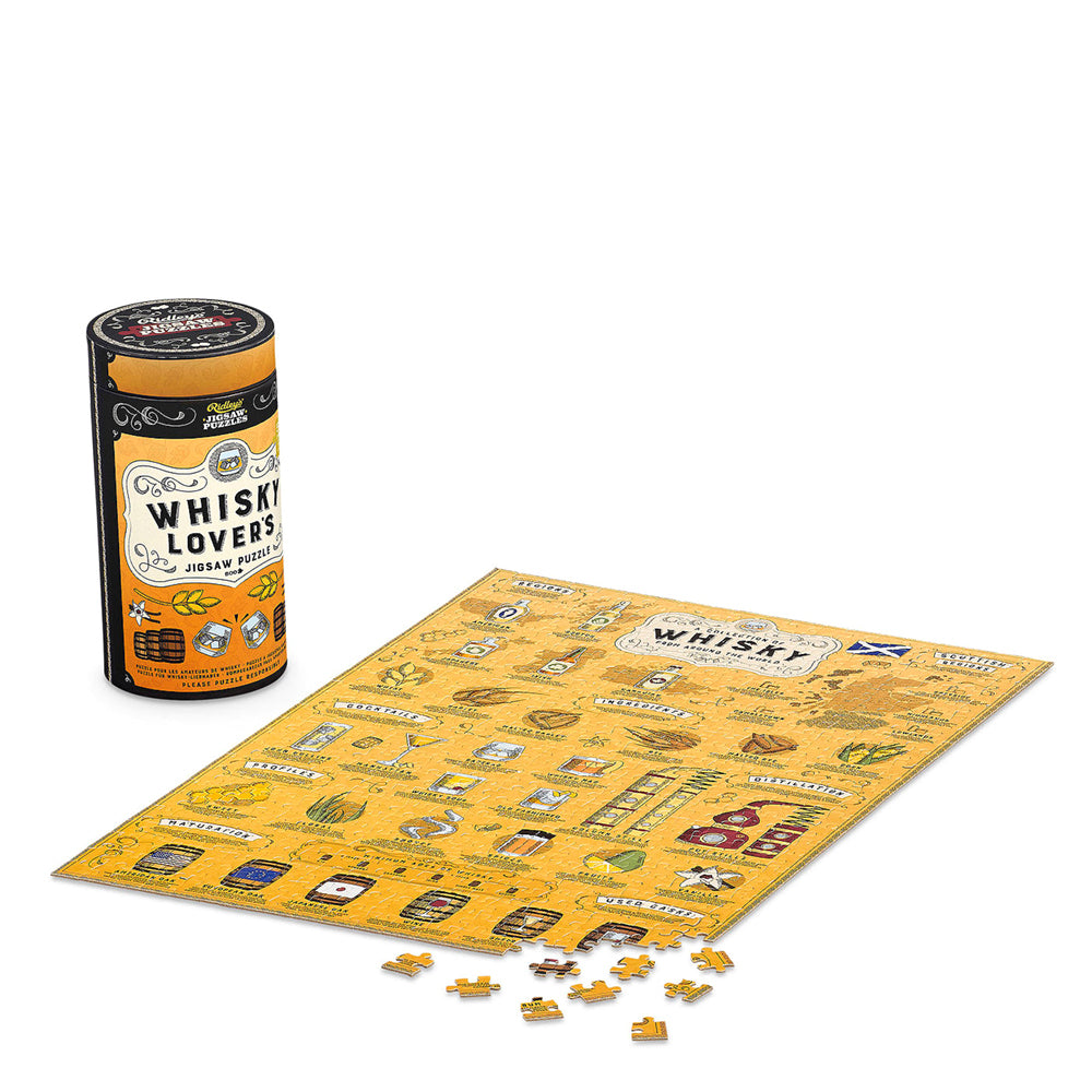 Ridley's Whiskey Lovers Puzzle - 500pc